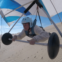 Our Lesson with Jockey's Ridge State Park Super Intendant, Joy Greenwood