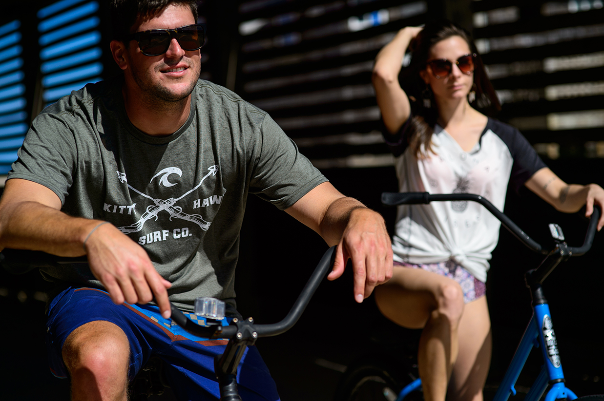 sunglasses and bikes
