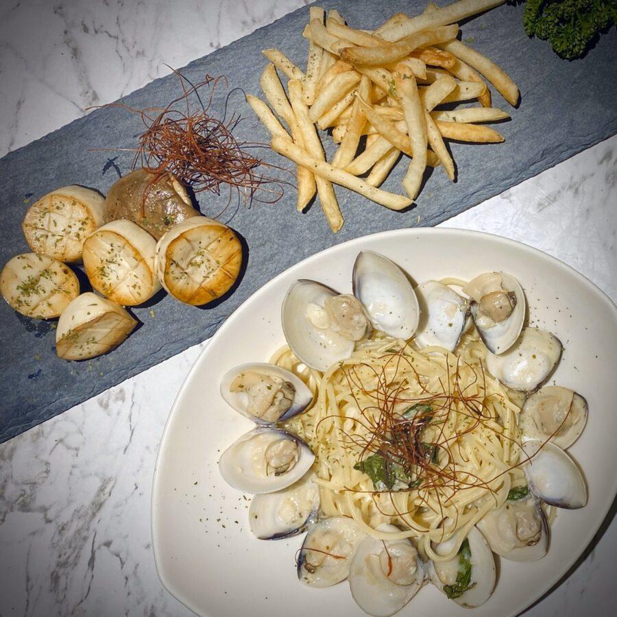 白酒蛤蜊A套餐