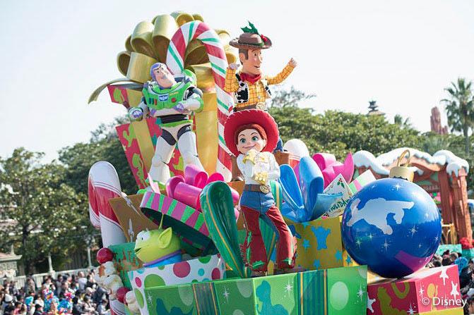 東京迪士尼陸地遊行:迪士尼聖誕故事集