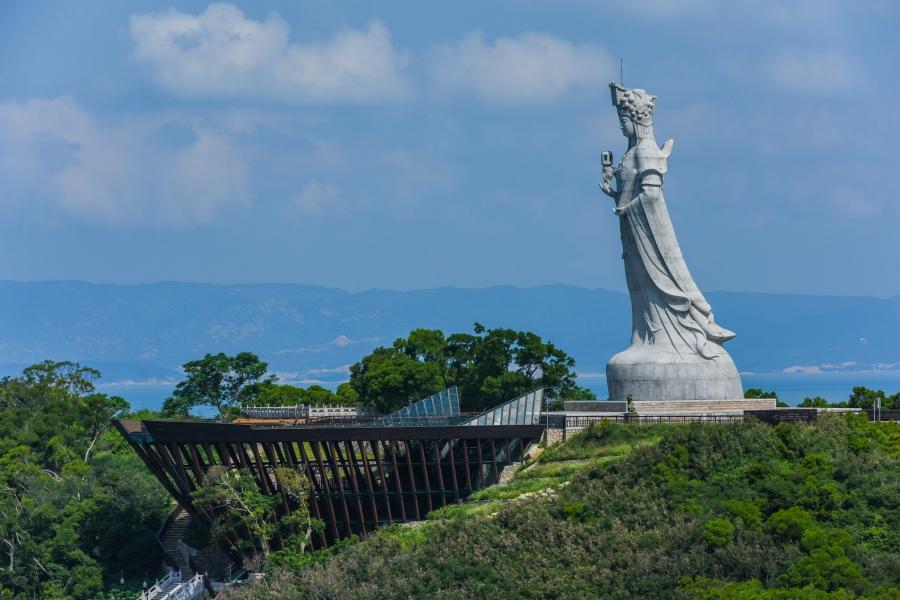 馬祖南竿景點:媽祖巨神像