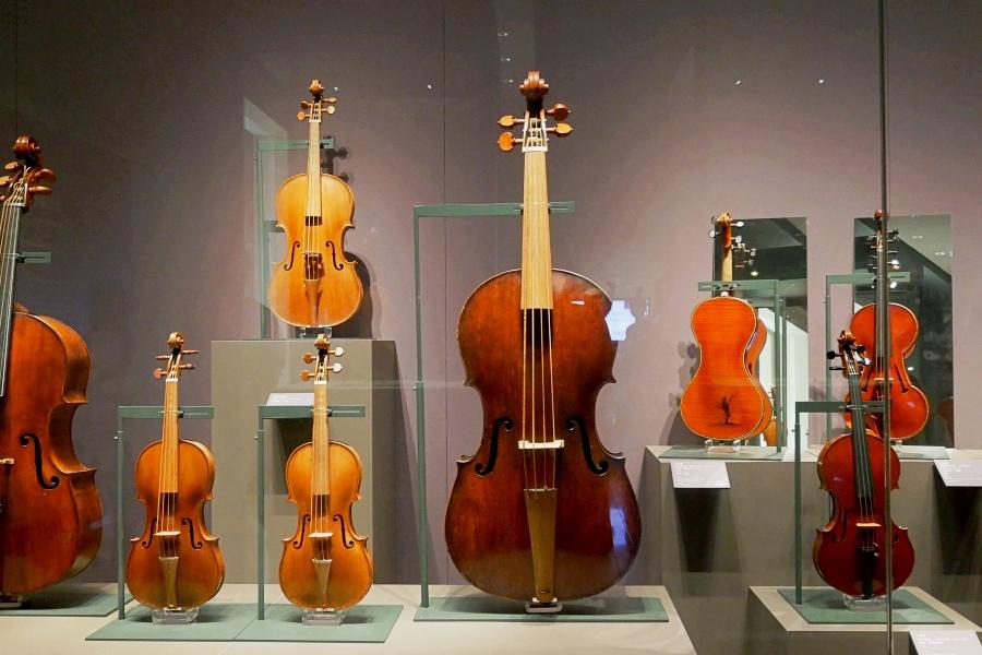 奇美博物館/台南景點/樂器廳/提琴