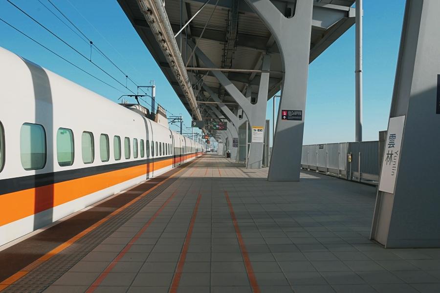 雲林高鐵站月台
