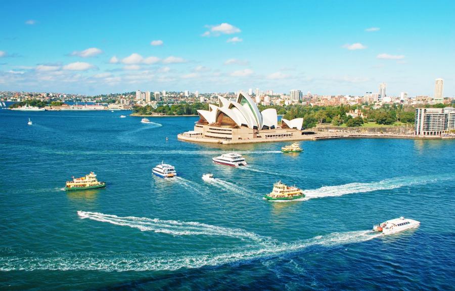 batch Australia 雪梨歌劇院 Sydney Opera House Ashutterstock 55906936