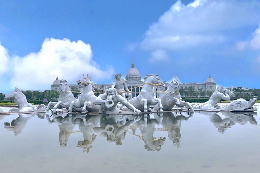 高鐵假期 台南奇美美術館