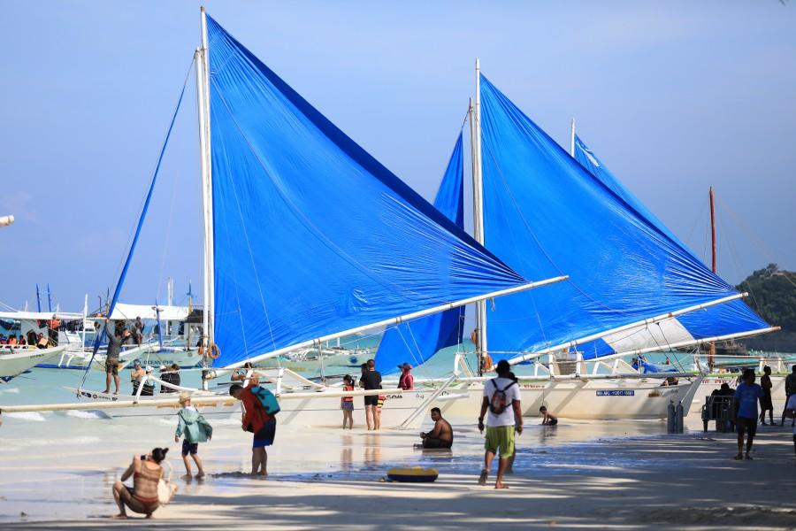 長灘島風帆船 Paraw