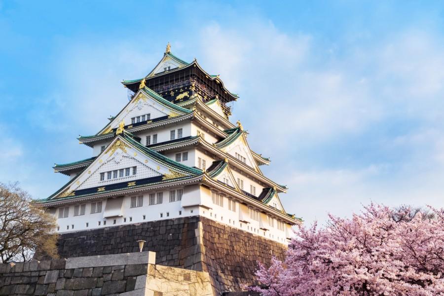 自由行 大阪城