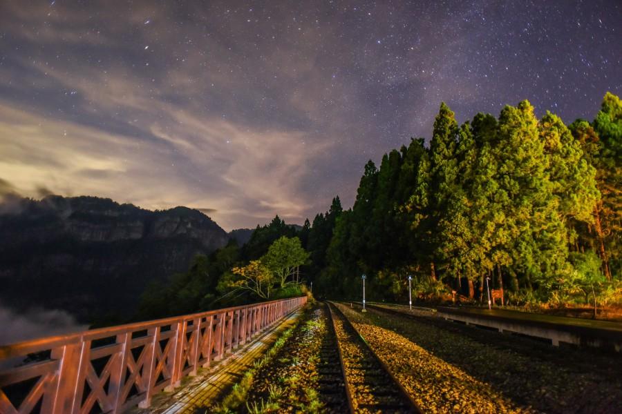 阿里山觀星/阿里山景點/阿里山櫻花/阿里山火車