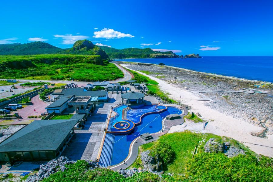 朝日溫泉、綠島旅遊、綠島景點