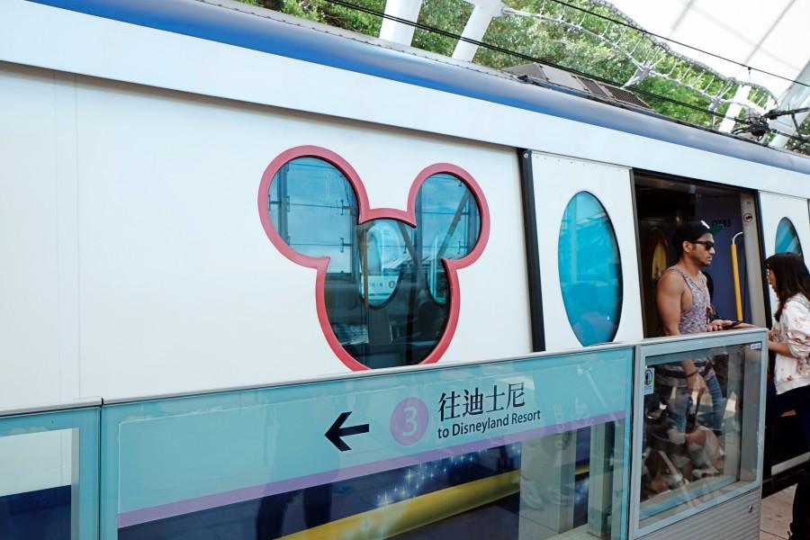 香港迪士尼 港鐵綫