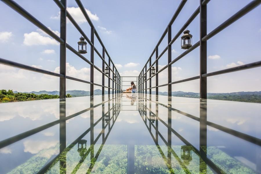 台南景點:174玻璃步道