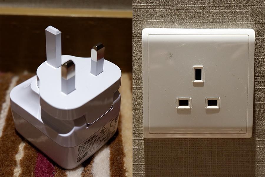 澳門自由行 插座電壓插頭