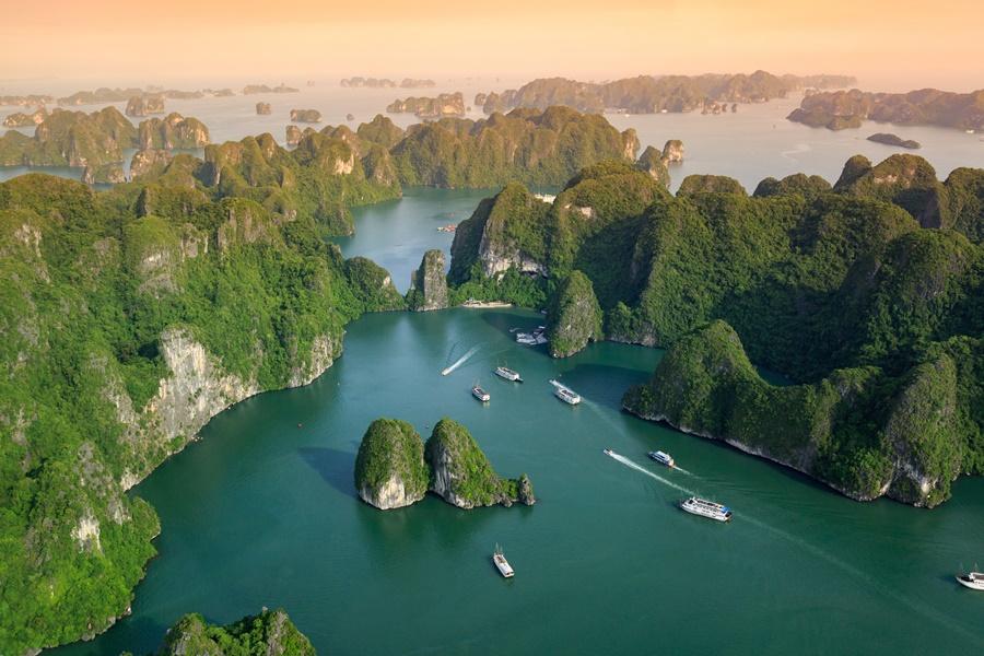 越南河內下龍灣