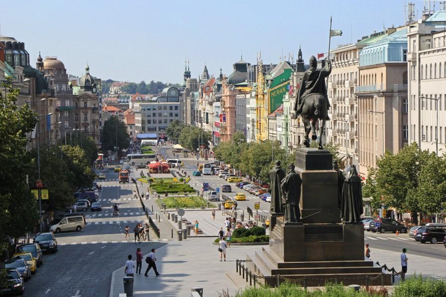 捷克景點:布拉格新城區