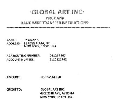 Suspicious Invoice
