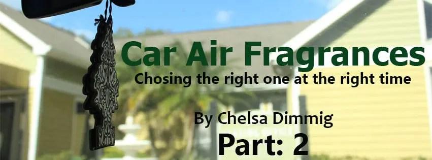 Car Air Fragrances Article Header