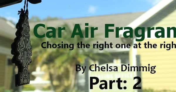 Car Air Fragrances Article Header