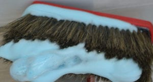 Foamy brush