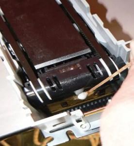 cleaning internal sensor strip