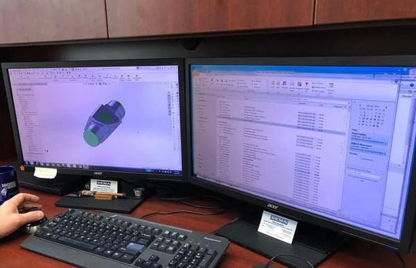 dema engineer developing new injector