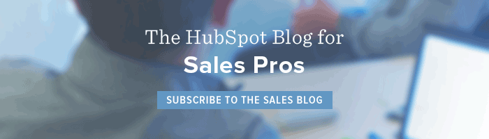 hubspot sales blog