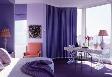 Bedroom Colors Purple