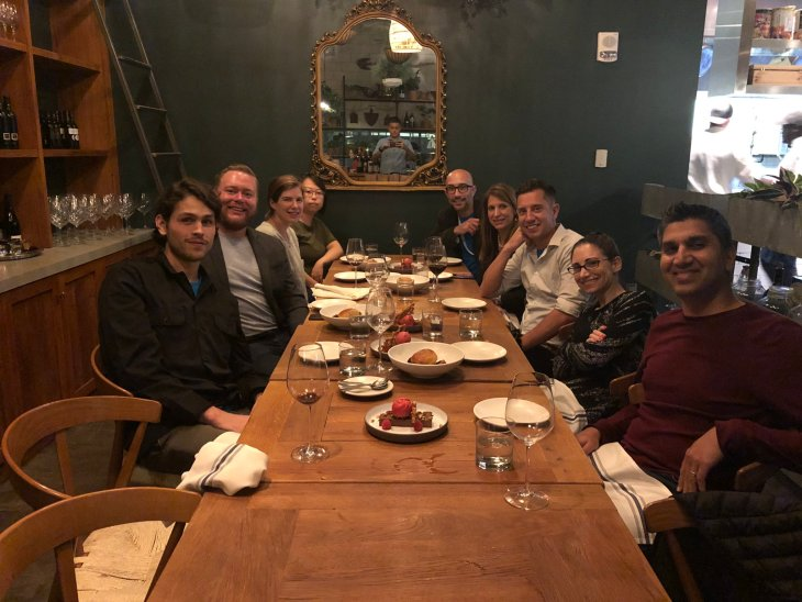 Knak Customer Dinner (Martech East)