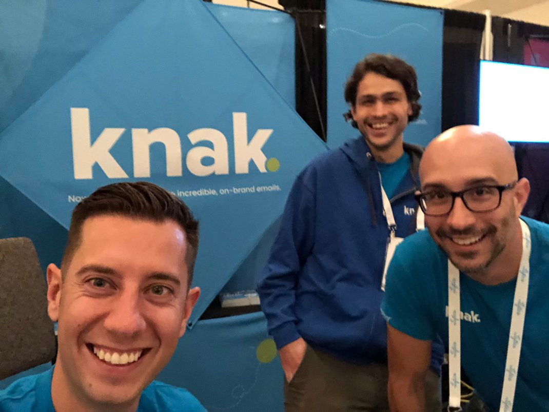Knak Team at MarTech East