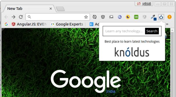 Knoldus Blog Chrome Extension