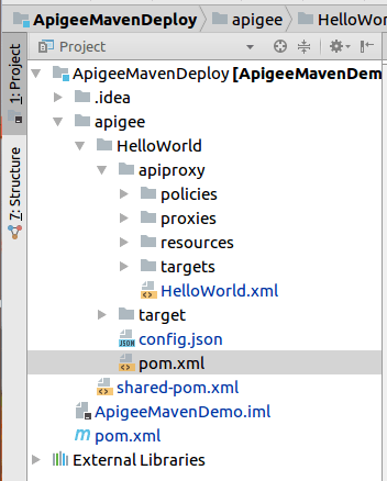 ProjectStructureApigee