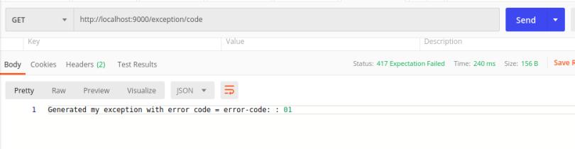 Java enum as error code in response.