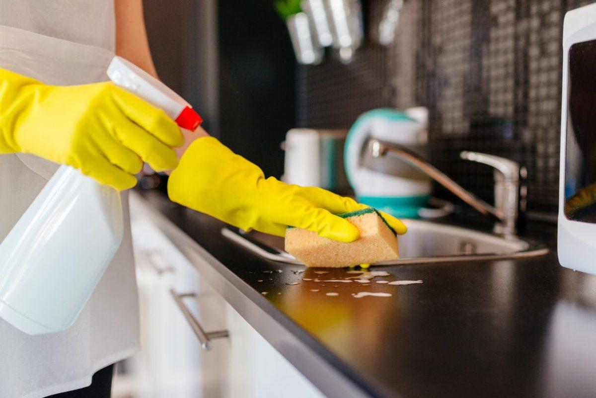 Bayram mutfak temizliği