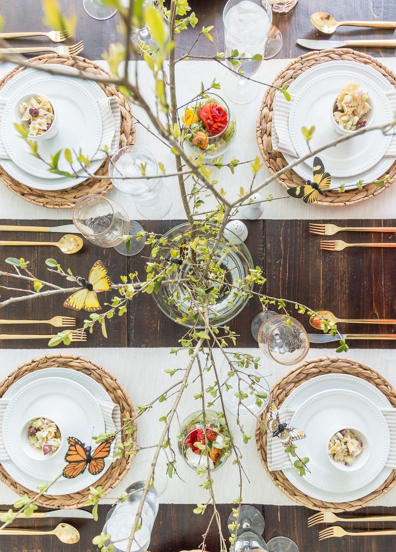 Yemek Masası Dekorasyonu Örnekleri