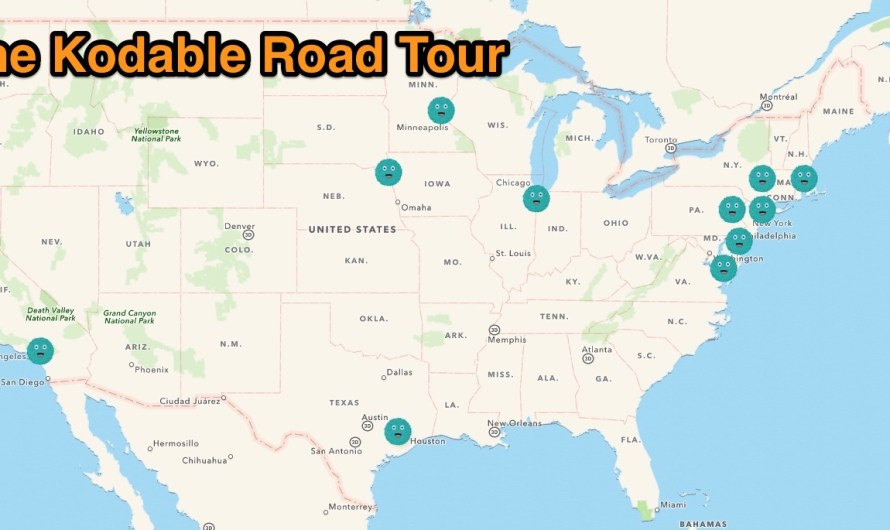 Kodable Road Tour: Day 7