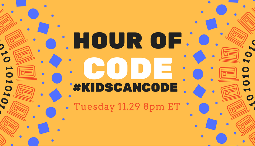 #KidsCanCode Chat 11/29/16 Hour of Code Tips and Tricks