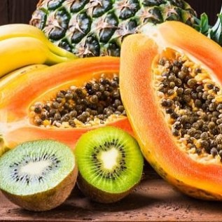 Fruits that contain natural digestive enzymes for digestion