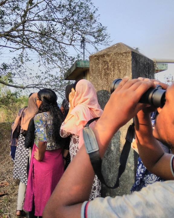 Campus Bird Count at Govt Ayurveda College, Pariyaram