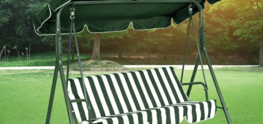 Canopied Swing Chair