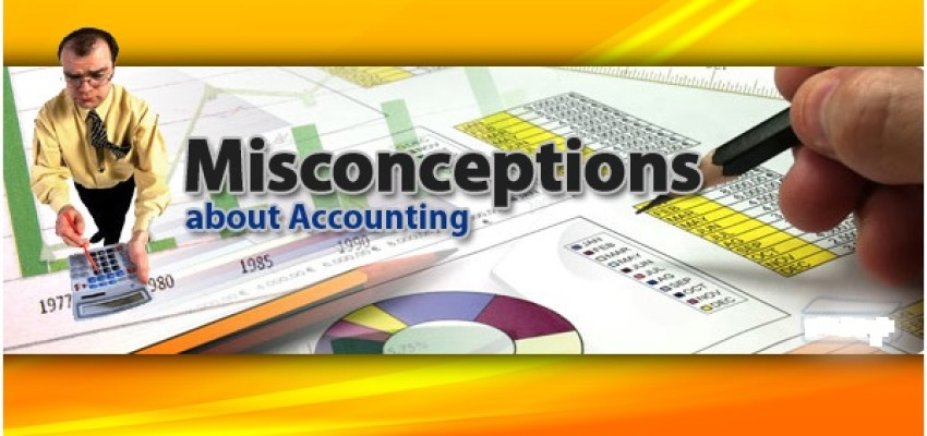Image result for accounting misconception and myths