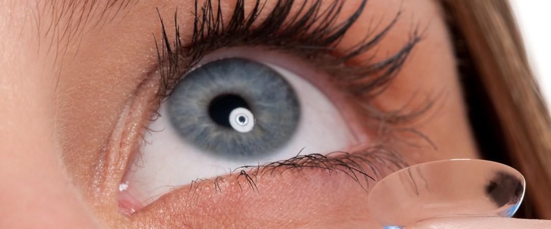 sphärische Kontaktlinse