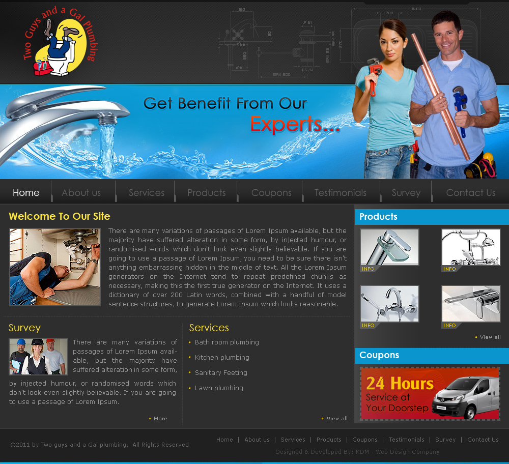 6 Creative and EyeCatching Wordpress Website Design Ideas