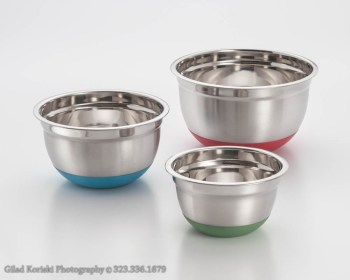 Product photography mixing bowls