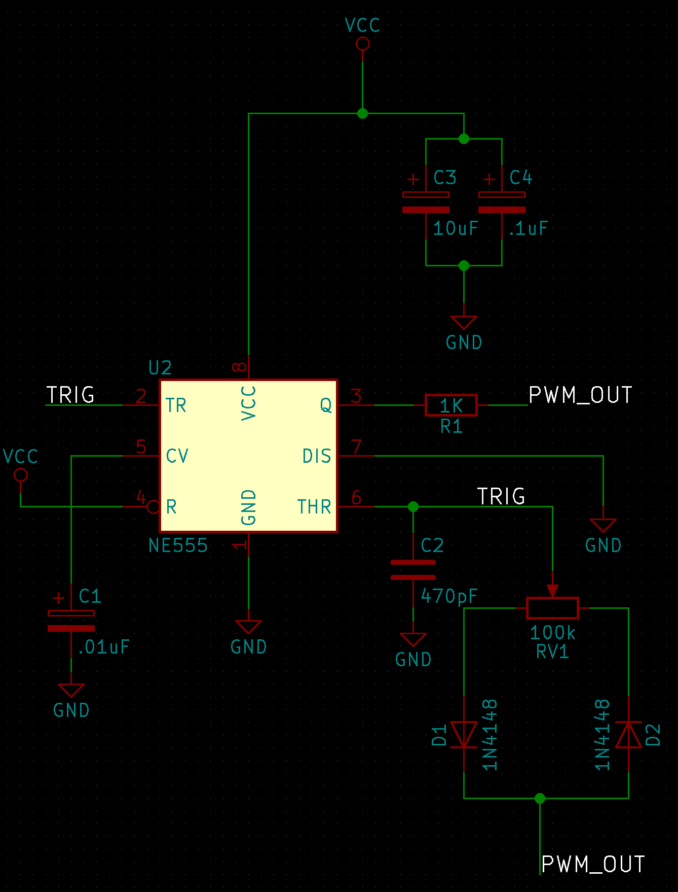 hight resolution of  pwm fans i figured out my design constraints for the oscillator the circuit needed to have an output frequency of 25 khz and operate at 5 volts