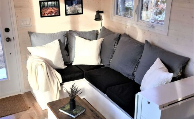 The Tiny Home With Perfect Neutrals Kovi