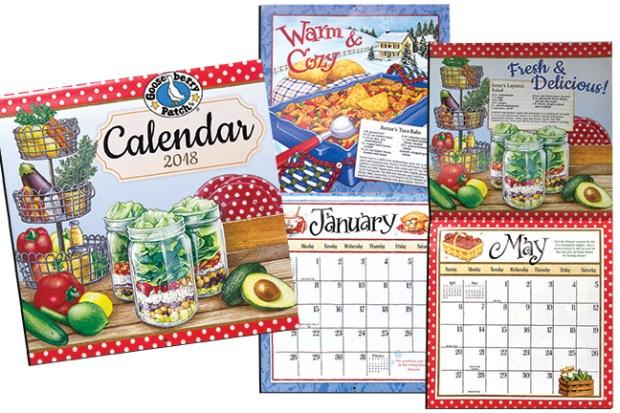 Gooseberry Wall Calendar 2018