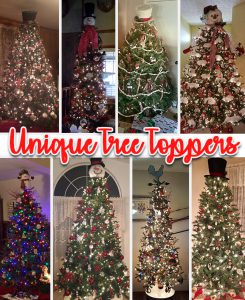 unique tree toppers