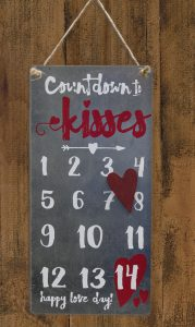 valentines day countdown calendar