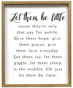 let them be little print