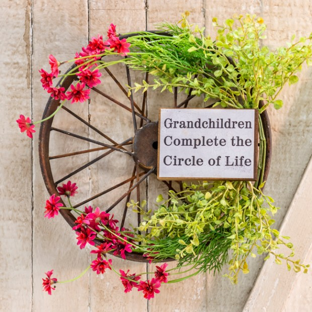 grandma wreath