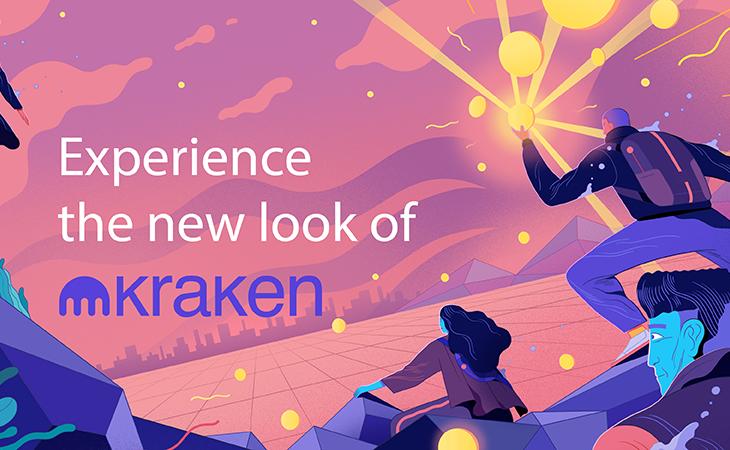 kraken site redesign